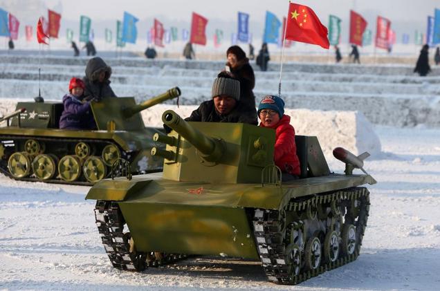 "Китайский ""милитаризм"" на мерше"