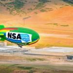 Активисты используют дирижабль, чтобы наблюдать за центром обработки данных АНБ в Юте