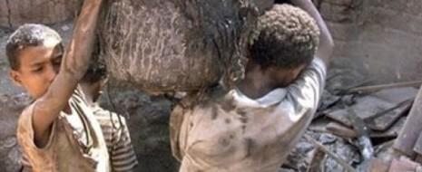"""В опубликованном в конце 2013 докладе о """"глобальных оценках и трендах"""" детского труда Международная организация труда отметила, что, по состоянию на конец 2012, по меньшей мере, 168 миллионов детей в мире трудились в условиях..."""
