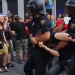 Полиция атаковала республиканских демонстрантов на Пуэрта-дель-Соль