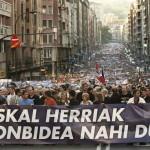 За права нашей земли, за Баскскую Республику!