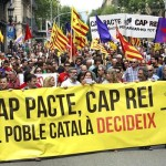 Марш в Барселоне за Каталонскую Республику