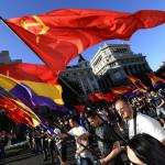 Протесты в Мадриде и требования республики