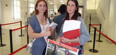 29-летней Тамаре Видаль, беременной на пятом месяце, удалось добиться отсрочки исполнения наказания, так же, как и ее коллеге Ане Оутеруэло. «Мы расплачиваемся за чужой поступок, хотя и за выпущенную в бассейн краску три года тюрьмы...