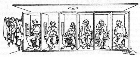 В каждой схеме реагирования, реализуемой нашим поведением в ответ на определённого рода стимуляцию, «социальное» определяет «распознавательную часть» - в каких ситуациях и на какие стимулы надо реагировать и пр. По мере общественных изменений, при освоении новых профессий и появлении новых навыков старые ключевые ситуации и пусковые стимулы...