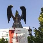 Тесть министра юстиции защищает фашистский монумент в Гранаде