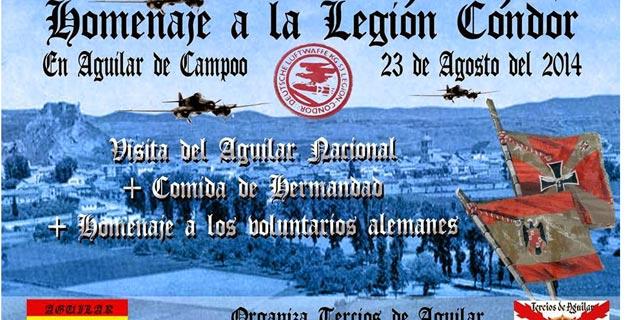 Ультраправая организация провела акцию в честь нацистской авиации, бомбившей Гернику