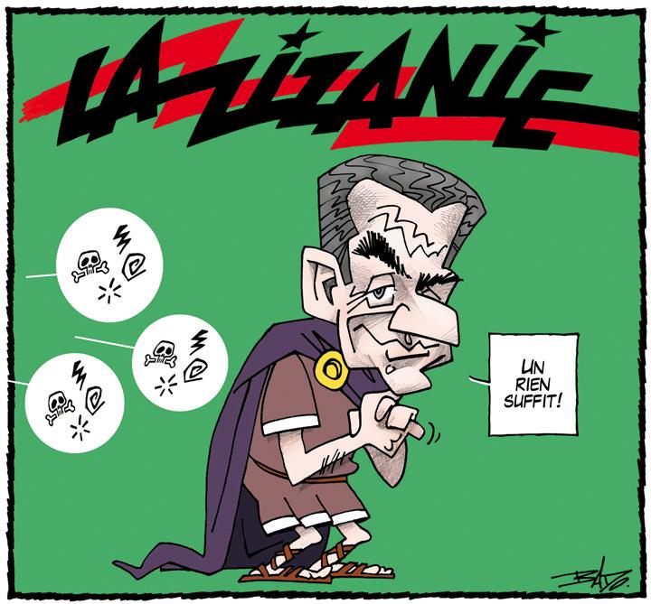 Nicolas Sarkozy,La Zizanie,pastiche,Astérix,France,Québec,ni