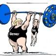 Глава французского левоцентристского правительства Вальс 22 сентября 2014 встретился в Берлине с правоцентристской канцлерин Германии Меркель - ни много, ни мало, чтобы получить её одобрение госбюджета и экономической политики Франции. Показательно: это первая зарубежная поездка Вальса после появления на свет нового кабинета Пятой республики из-за...
