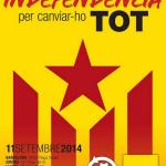 Список народного единства призывает к выступлениям в поддержку референдума в День Каталонии
