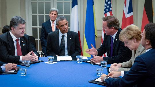 На саммите НАТО. Обсуждение Украинского кризиса.