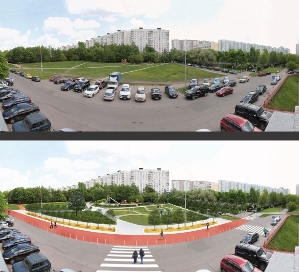 Проект обустройства народного парка, созданный жителями