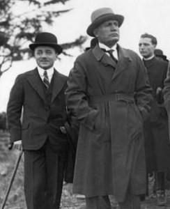 Дольфус вместе со своим учителем Муссолини