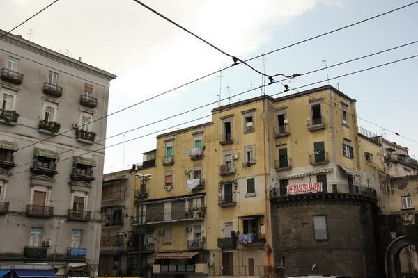 Криминальные кварталы Неаполя