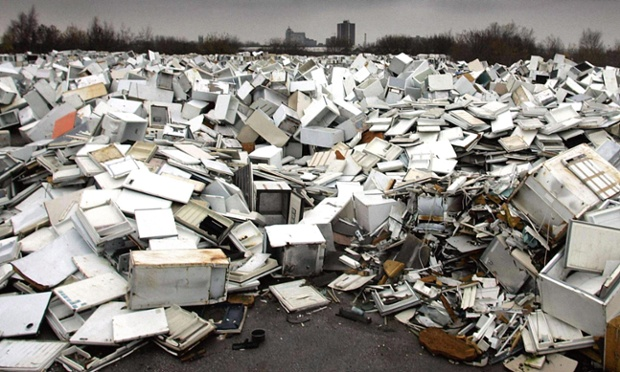 Millions of appliances dumped in gardens