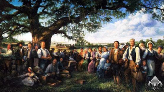 Первые каджуны прибывают в Луизиану