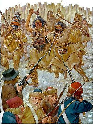 Бой при Ситке 1 октября 1804 г., заключительный эпизод восстания тлинкитов (колошей) против Русско-Американской-компании (с 1802).