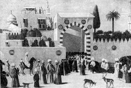 Венецианское посольство в Каире. Школа Беллини. XVI в.