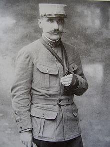 Огюстен Кошен в военной форме в 1916 году