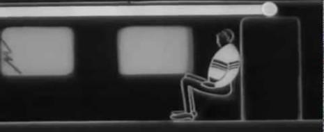 Советский короткометражный фильм, объясняющий теорию относительности, который выполнен в необычном формате диалога.
