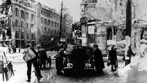 Западный Берлин, декабрь 1947 г. Борьба за выживание