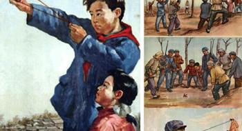 Несмотря на очевидную глупость, дух кампании против «Четырёх Вредителей» не исчез полностью из Китая. Постер, датированный 19 июня 1998 года, размещённый на публичной стене Юго-Западного...