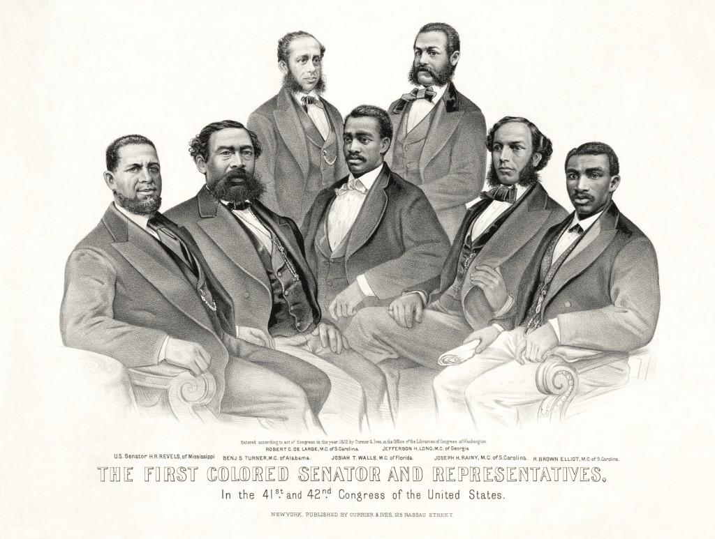 First_Colored_Senator_and_Representatives