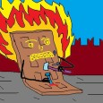 Акция Павленского, как и разбившийся несколько дней ранее А321, выявила то, что казалось скрытым внутри «единого, сплочённого» российского общества: публика оказалась расколота. Все постарались высказаться об акции. Видимо из-за того, что не часто в последнее время в центре Москвы горят здания силовых ведомств.