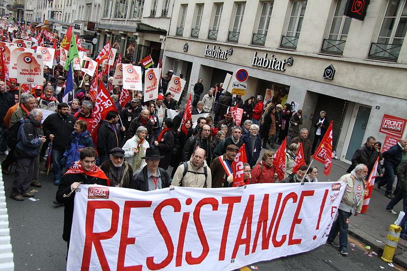 Митинг ФКП в Париже 2012