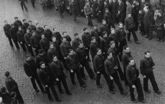 Румынские железногвардейцы