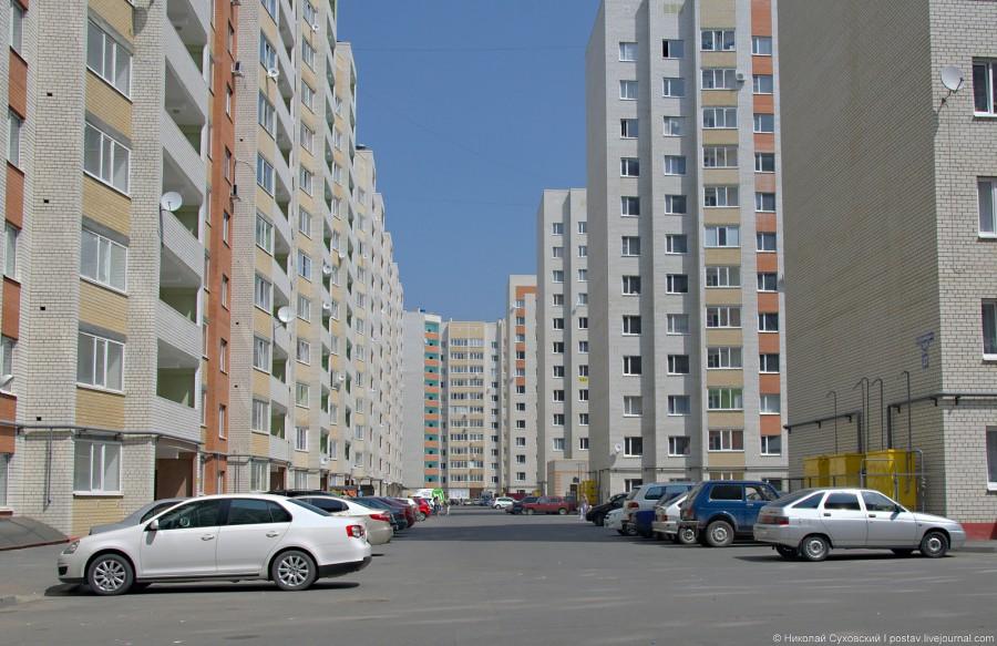 Уплотнительная застройка в Ставрополе
