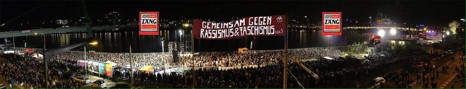 Демонстрация против PEGID'ы