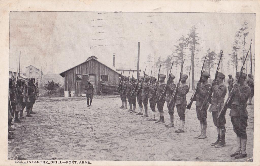 Военный лагерь под Атлантой