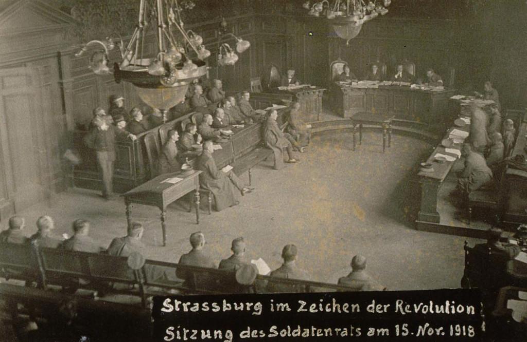Самая западная из советских республик - Эльзасская. Заседание Страсбургского совета 15.11.1918