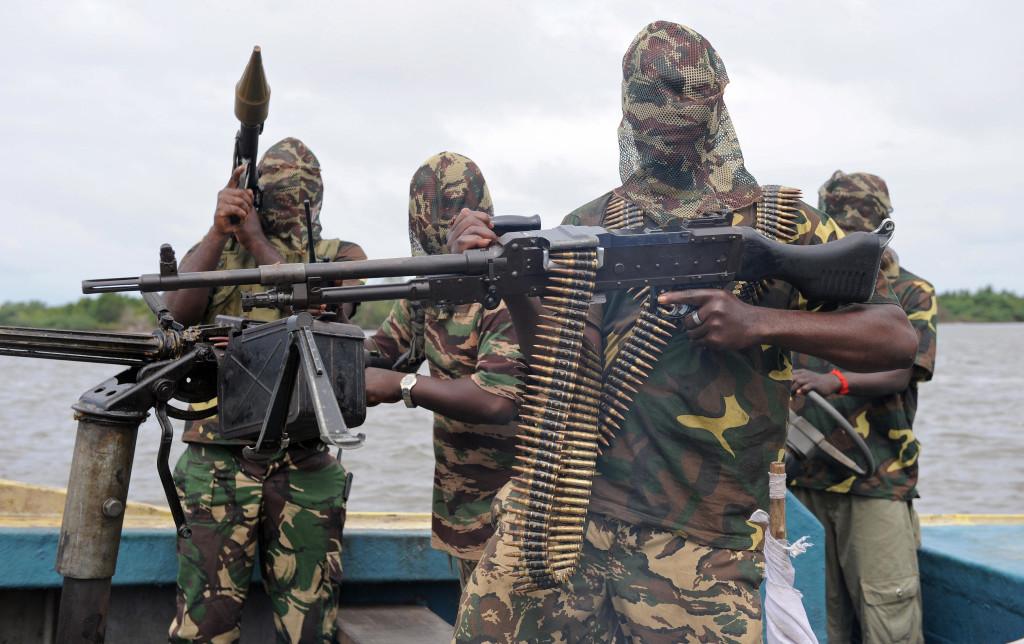 Бойцы за освобождение дельты Нигера