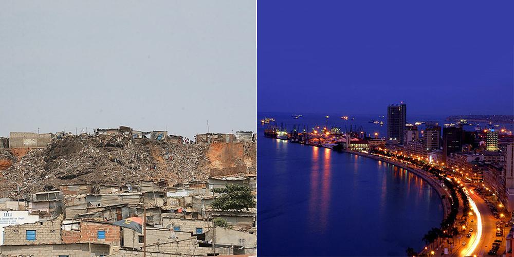 Луанда — обычный город контрастов