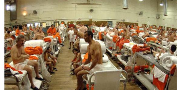 Частная пересыльная тюрьма в Миссиссиппи