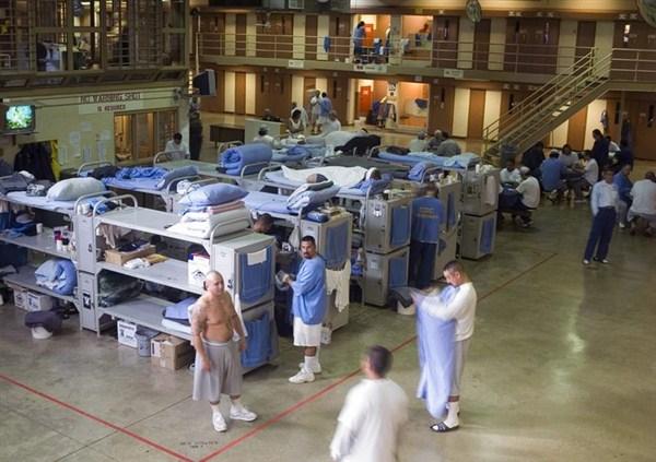Спальня з\к з\к в американской тюрьме