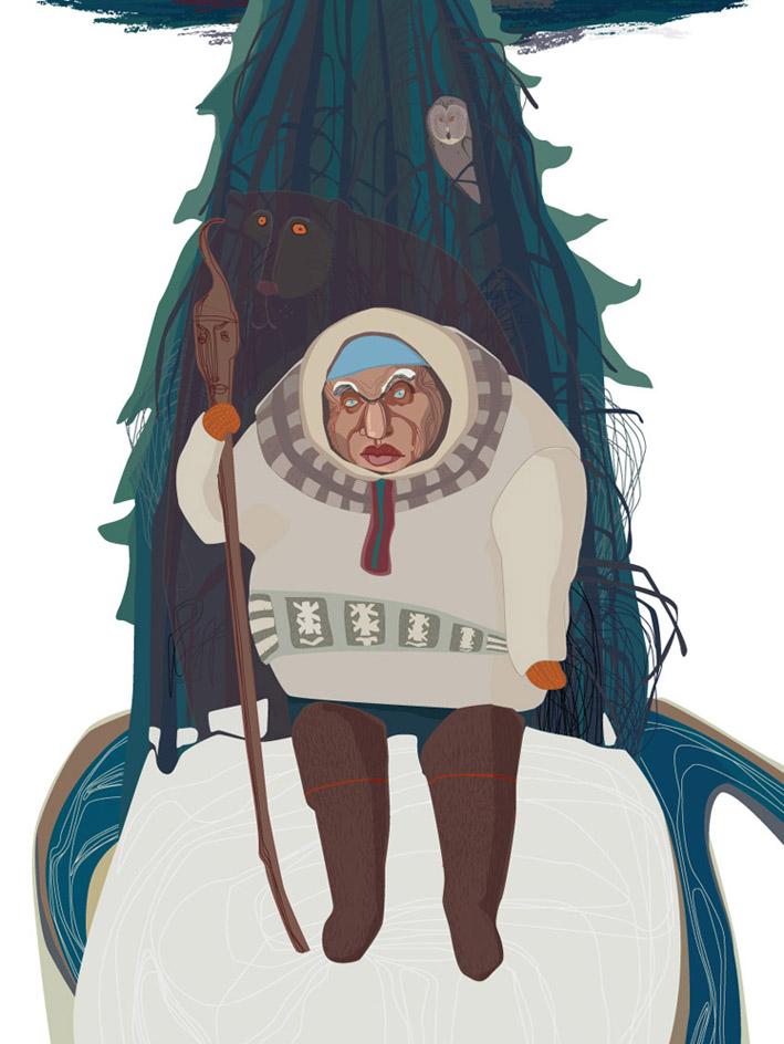 Пам-сотник, образ которого вдохновлял деятелей национального возрождения коми 19-начала 20 века