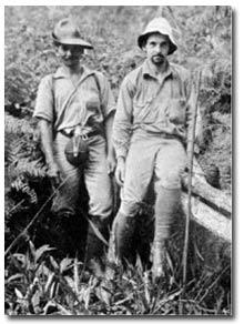 Эрнст Майр (справа) в экспедиции на Новой Гвинее. 1928 г.