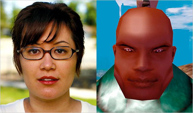 Ван Яо, 1986 г.р. Студентка, проживает в Шанхае (Китай). «Живёт» EverQuest II, в среднем – 14 часов в неделю. Её персонаж – маг: