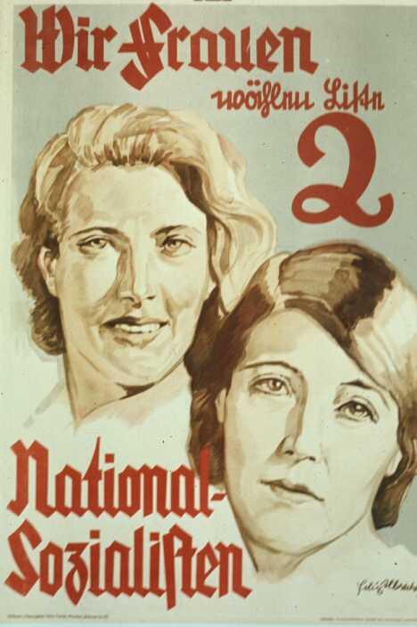 мы, женщины, выбираем национал-социалистов