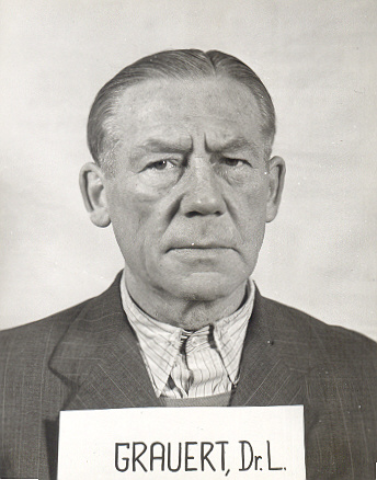Людвиг Грауэрт в Нюрнберге (увы, лишь как свидетель)
