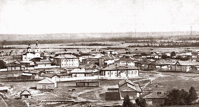Усть-Сысольск. Торговые ряды. Начало 20 века
