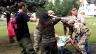 """Некоторые украпропагандисты утверждают, что """"террористы воюют на Донбассе против собственного народа"""". А ещё у них """"единая страна"""", да. Что на это можно сказать? Парад 9-го мая в ДНР оказался самым массовым мероприятием последнего времени, и был..."""
