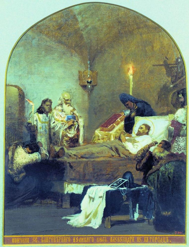 Генрих Семирадский. Смерть Александра Невского