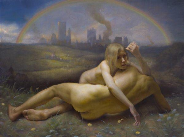 Картины Адама Миллера о современной мифологии