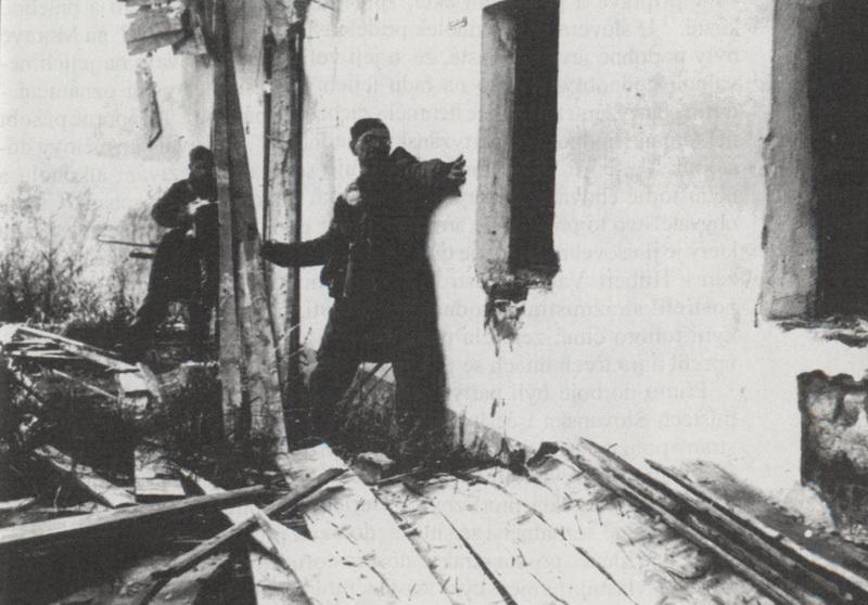 Бой с бандеровцами в Южной Чехии