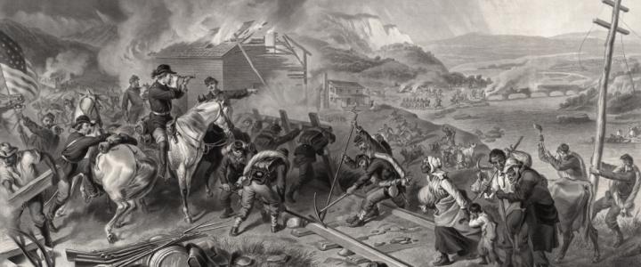 Марш Шермана к атлантическому океану активно используется в пропаганде, как пример безудержной жестокости будущих северян-победителей к побежденным южанам. Появившись в конце 19 века...