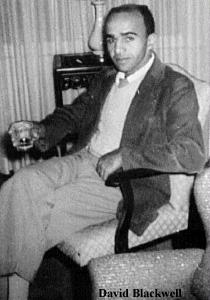 Дэвид Блэкуэлл, первый негр-математик в США, первый негр - член Национальной Академии наук